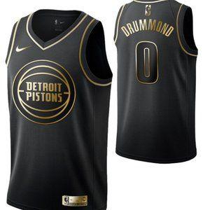 Detroit Pistons #0 Andre Drummond  Swingman Jersey